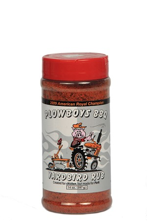 Plowboys Yard Bird Rub (14oz)
